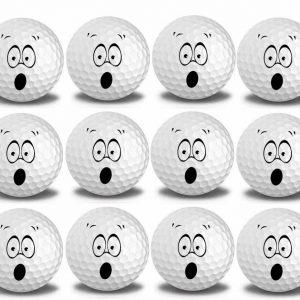 Smiley#2 Golf Balls 12pk