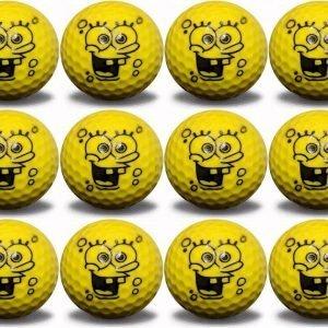 Sponge Ball Character 12 Ball Pack