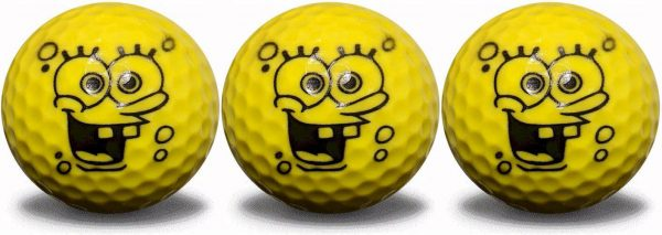 Sponge Ball Character 3 Ball Pack