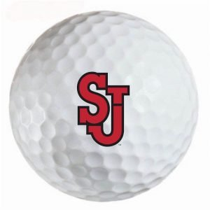 St. John's Red Storm  Refinished Titleist ProV1 Golf Balls
