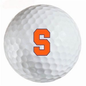 Syracuse Orange Refinished Titleist ProV1 Golf Balls