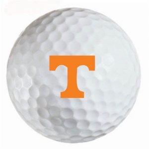 Tennessee Vols Refinished Titleist ProV1 Golf Balls