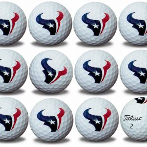 Texans Refinished Titleist ProV1 Golf Balls