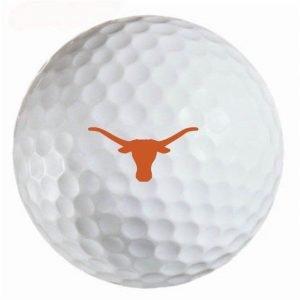 Texas Long Horns Refinished Titleist ProV1 Golf Balls