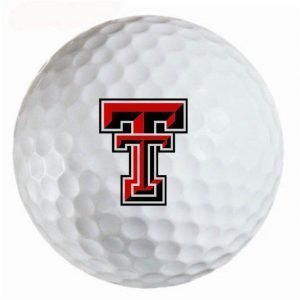 Texas Tech Red Raiders Refinished Titleist ProV1 Golf Balls