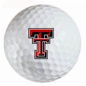 Texas Tech Red Raiders Refinished Titleist ProV1 Golf Balls