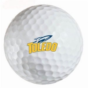 Toledo Rockets Refinished Titleist ProV1 Golf Balls