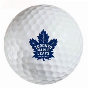 Tornoto Maple Leafs Refinished Titleist ProV1 Golf Balls