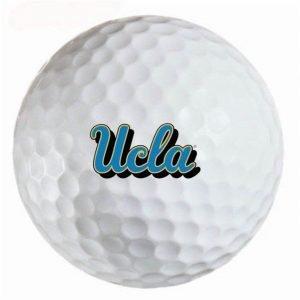 UCLA Bruins  Refinished Titleist ProV1 Golf Balls