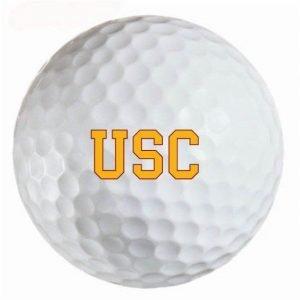 USC Trojans  Refinished Titleist ProV1 Golf Balls