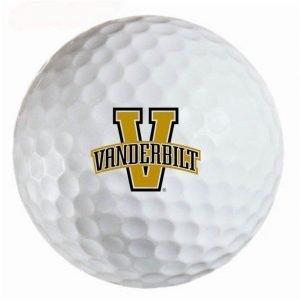 Vanderbilt Commodores Refinished Titleist ProV1 Golf Balls
