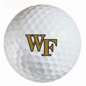 Wake Forest Deacons  Refinished Titleist ProV1 Golf Balls