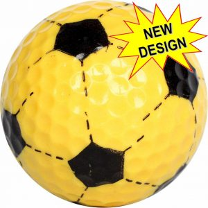 Yellow Volleyball  Golf Balls Novelty One Dozen